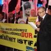 YOLSUZLUK SKANDALINI PROTESTO ETTİK