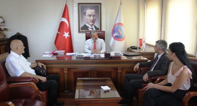 VATAN PARTİSİ'NDEN EĞİTİM-İŞ'E ZİYARET